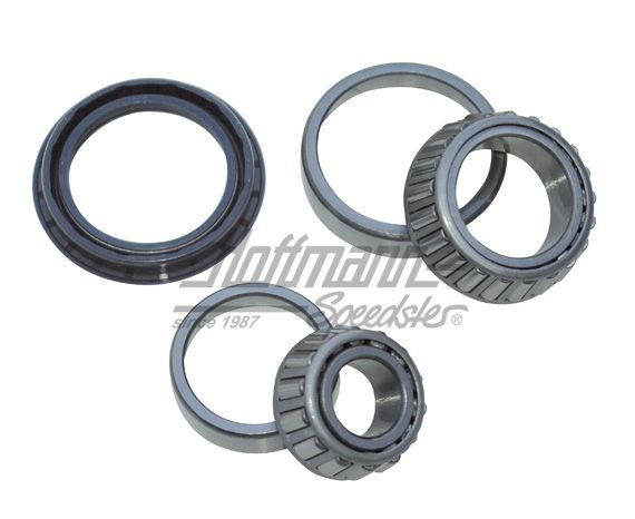Wheel bearing kit, front, complete, 4 68-