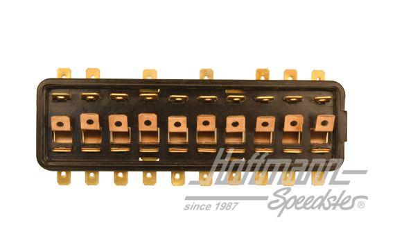 fuse box, 10 fuses, 66-71   fuse box, add-on-parts   electrics   beetle    hoffmann speedster  hoffmann speedster