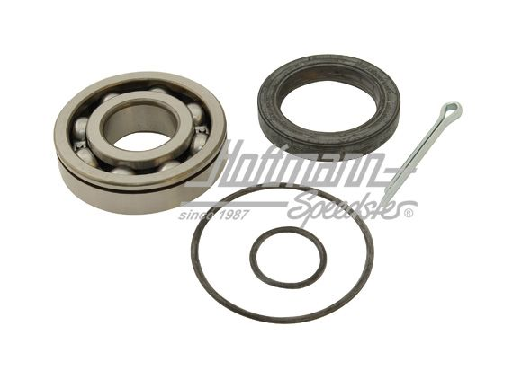 Wheel bearing kit, rear, complete, swing axle